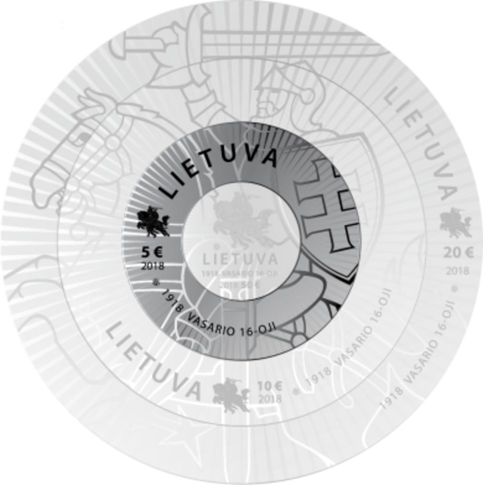 10 Eur moneta, skirta ginkluotosioms pajėgoms ir sukarintoms struktūroms